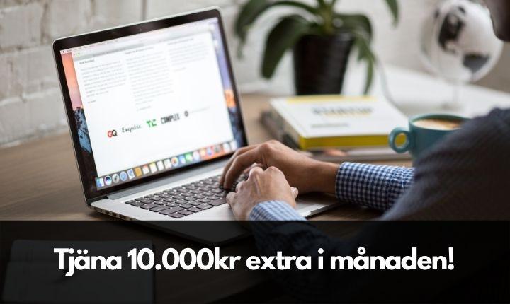 tjäna 10000kr extra i månaden